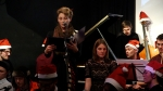 Alice Zawadzki singing Kieran McLeod's arrangement of O Come All Ye Faithful